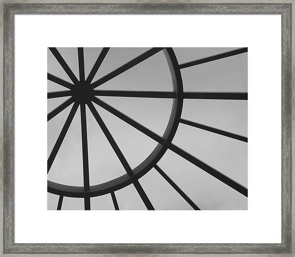 Mystic Wheel  Framed Print