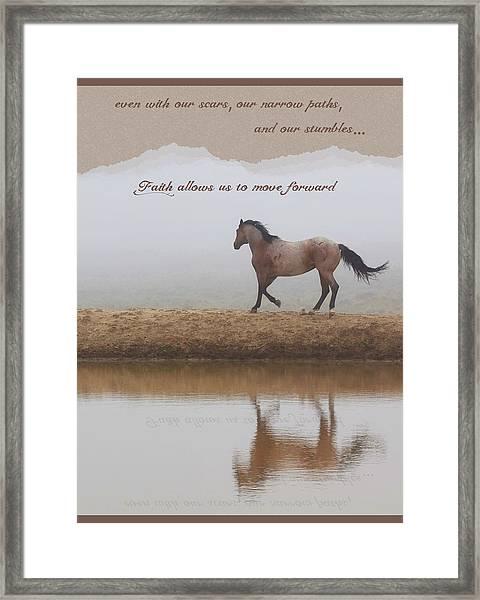 Mystical Beauty Inspirational Framed Print