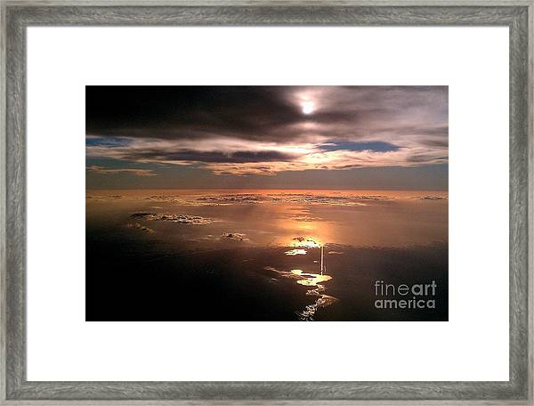 Mystical Flight Framed Print
