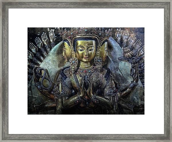 Mystical India Framed Print