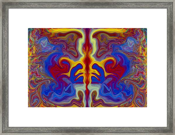 Myths Of Dragons Framed Print