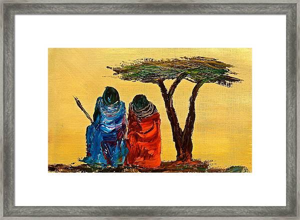 N 15 Framed Print