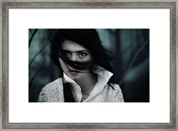 N Framed Print