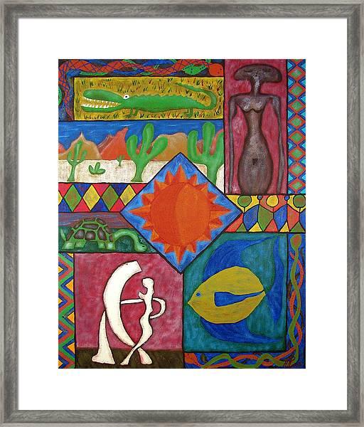 Naive #12 Framed Print
