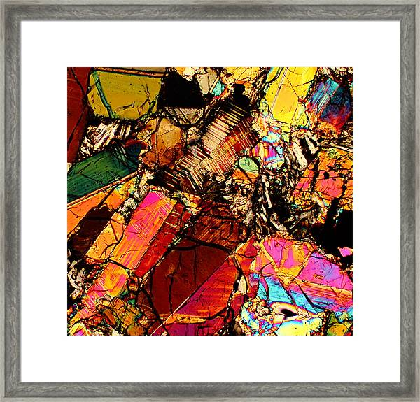 Through Martian Eyes Framed Print