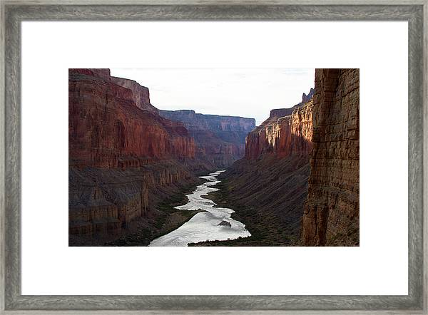 Nankoweap Grand Canyon Color Framed Print