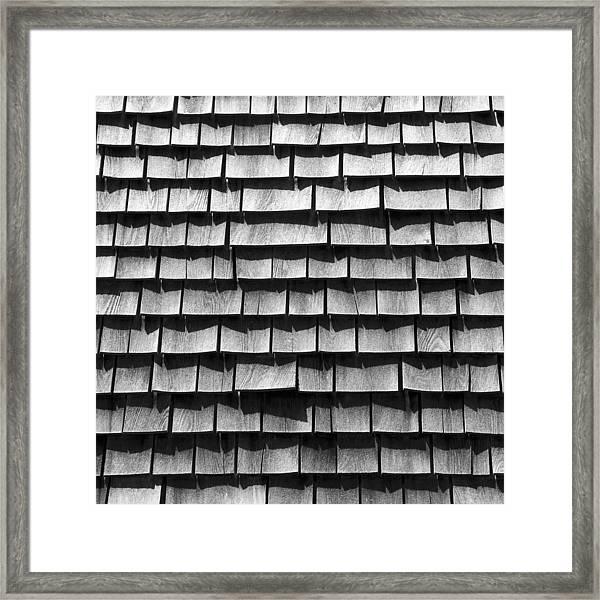 Nantucket Shingles Framed Print