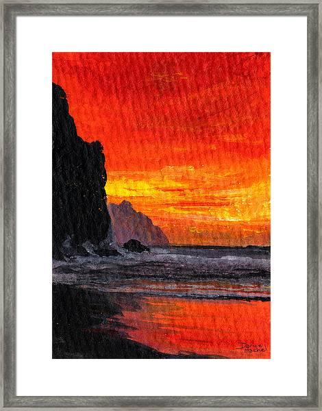 Napali  Framed Print