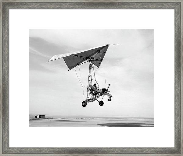 Nasa Paresev Glider Framed Print