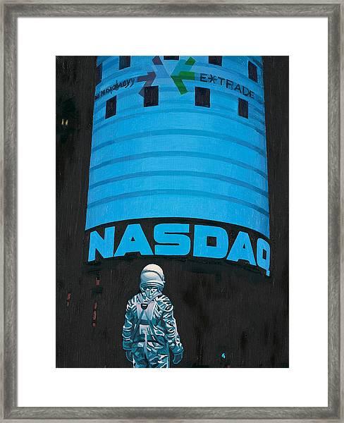 Nasdaq Framed Print