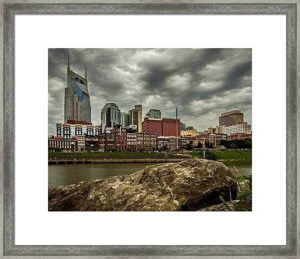 Nashville Tennessee Framed Print