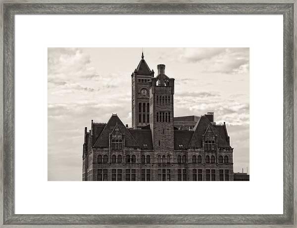 Nashville's Union Station Framed Print