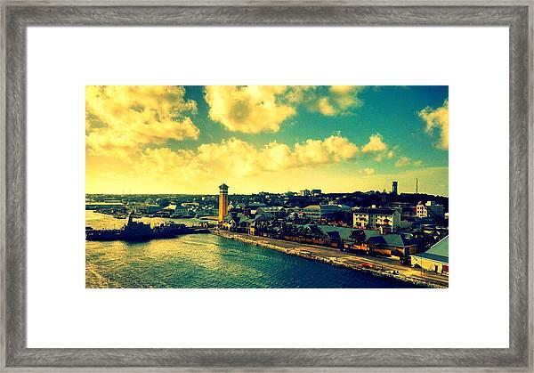Nassau The Bahamas Framed Print