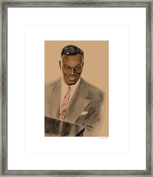 Nat King Cole Framed Print