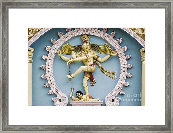 Nataraja The Cosmic Dancer Framed Print