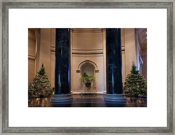 National Gallery Of Art Christmas Framed Print