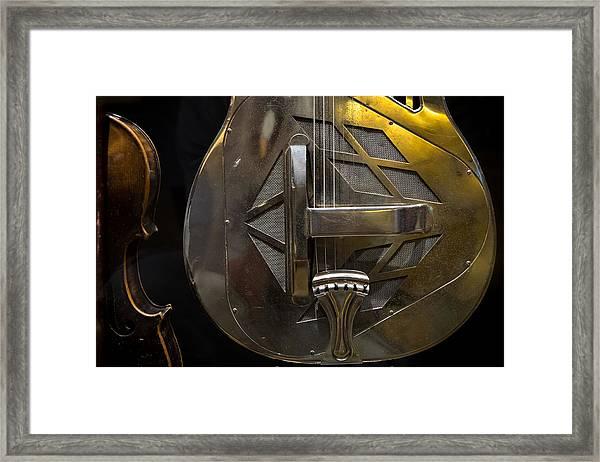 National Guitar Framed Print