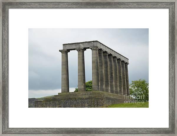 National Monument Of Scotland Framed Print