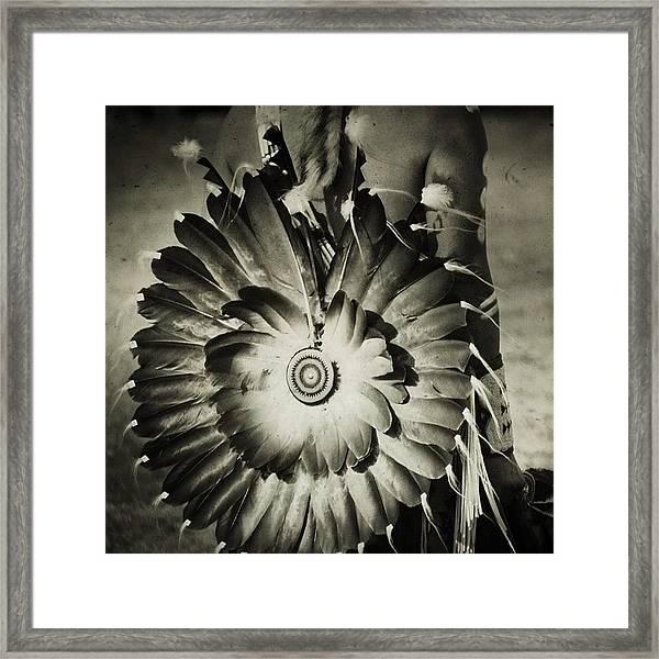 #native #american #powwow #wacipi Framed Print