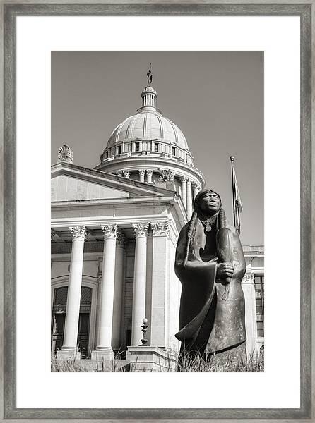 Native Capitol Framed Print