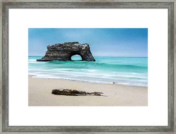 Natural Bridges Framed Print