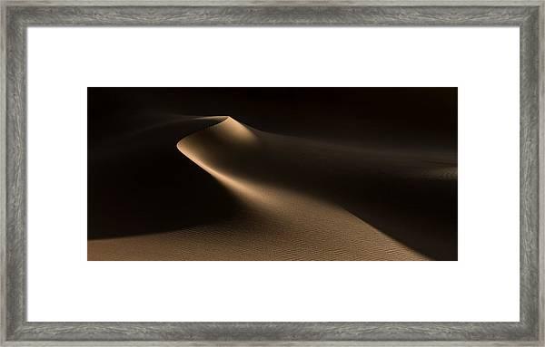 Natural Curves (namib Desert) Framed Print