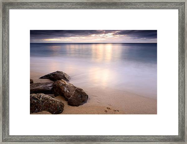 Natural Pastels Framed Print