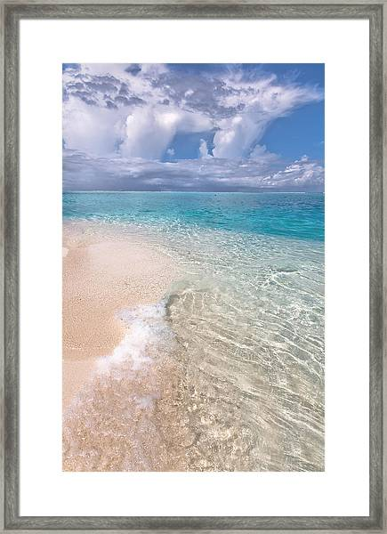 Natural Wonder. Maldives Framed Print