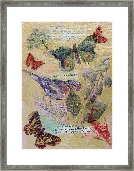Nature 12 Framed Print