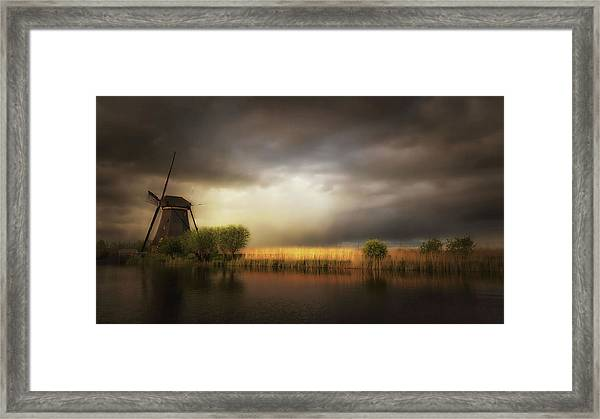Nature As A Painter Framed Print