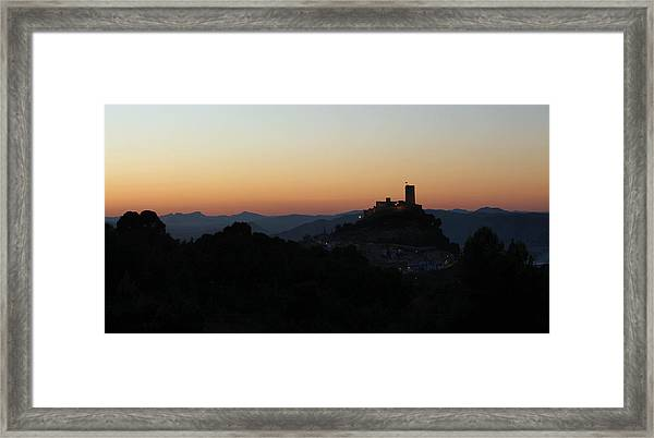 Nature In Layers Framed Print