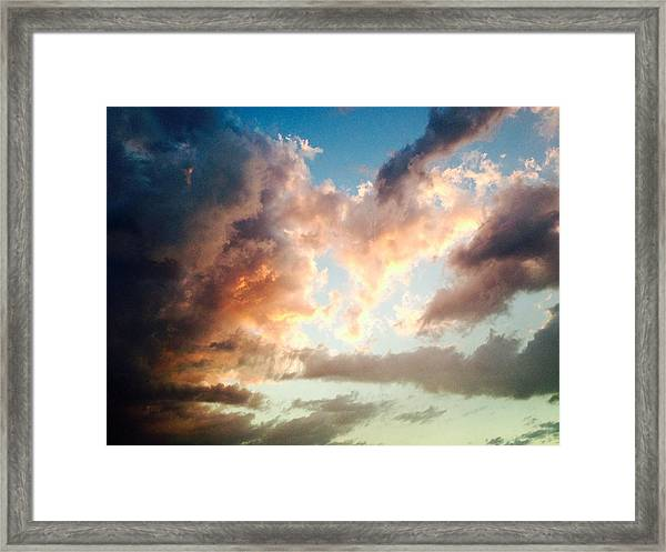 Framed Print featuring the photograph Nature's Canvas by Candice Trimble