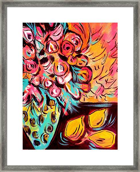 Nature's Paintbox Framed Print