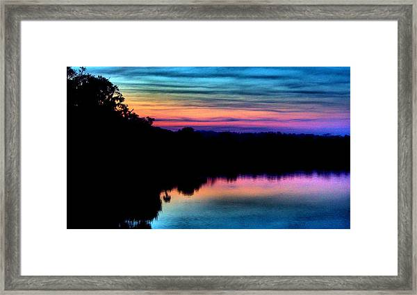Nature's Rainbow Framed Print