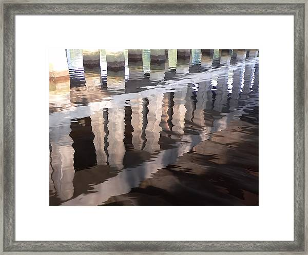 Nature's Watercolor Framed Print