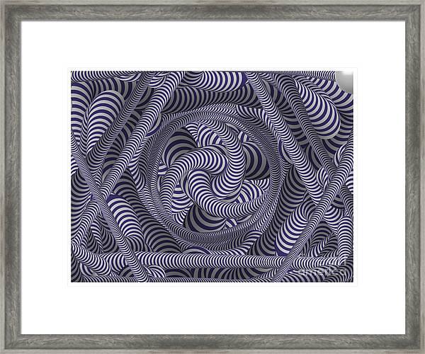 Nautical Coloured Design Framed Print