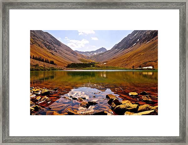 Navajo Lake Framed Print