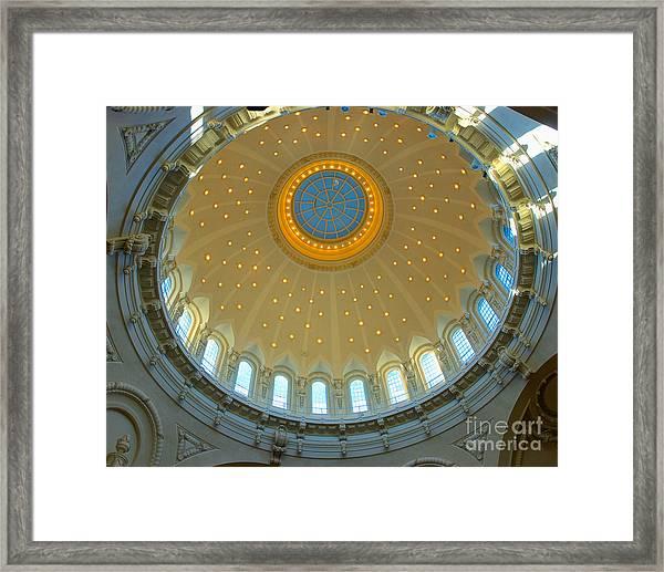 Naval Academy Chapel Side Dome Framed Print