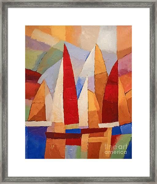 Navigare Framed Print
