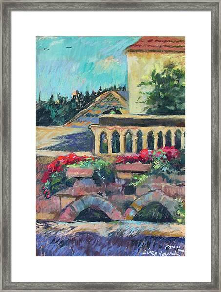 Nazareth Rooftops Framed Print