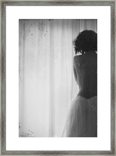 Near Light Framed Print by Milena Seita