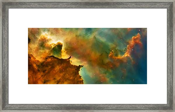 Nebula Cloud Framed Print