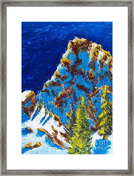Needles 2 Framed Print