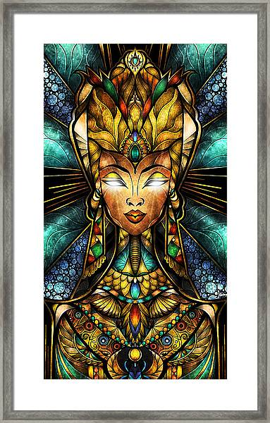 Nefertiti Framed Print