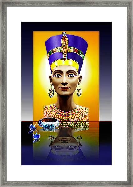 Nefertiti  The  Beautiful Framed Print