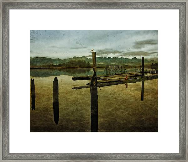 Nehalem Bay Reflections Framed Print