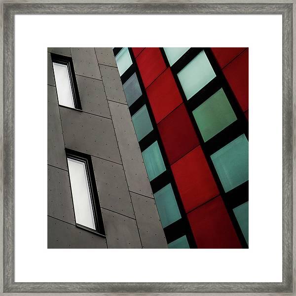 Neighbors Framed Print by Gilbert Claes