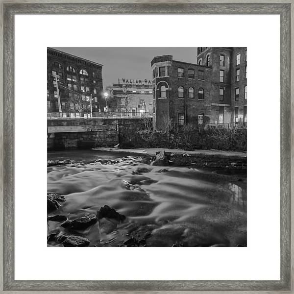 Neponset At Night Framed Print