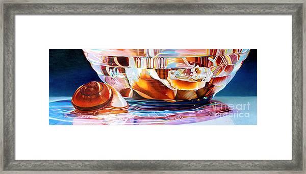 Neptune's Bounty Framed Print by Arlene Steinberg