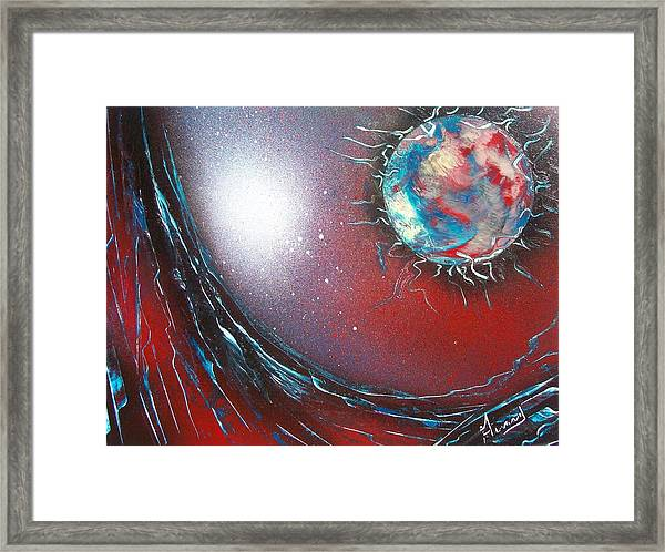 Neutron Framed Print